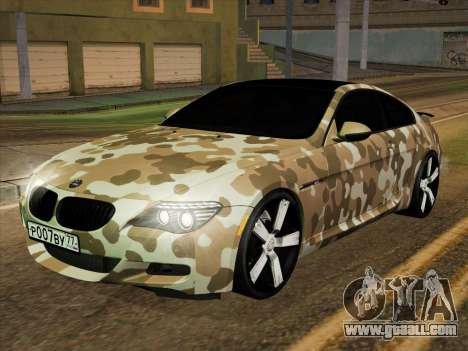 BMW M6 Hamann for GTA San Andreas side view
