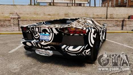 Lamborghini Aventador LP700-4 2012 [EPM] Circle for GTA 4 back left view