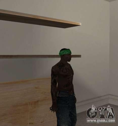 New bandanas for CJ for GTA San Andreas third screenshot