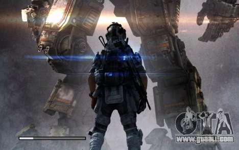 Boot screens and menus Titanfall for GTA San Andreas eighth screenshot