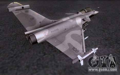 Dassault Rafale M for GTA San Andreas upper view