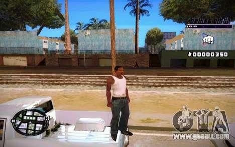 C-HUD Tawer Gitto for GTA San Andreas forth screenshot