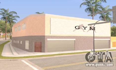New gym for GTA San Andreas