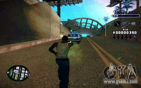 C-HUD Tawer Gitto for GTA San Andreas second screenshot