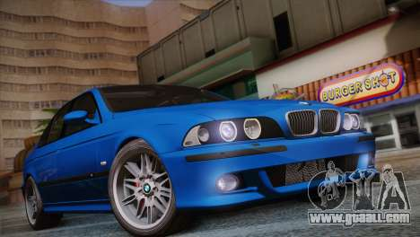 BMW E39 M5 2003 for GTA San Andreas