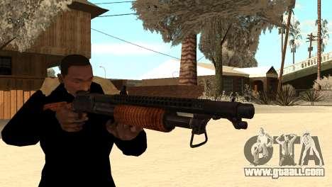 M1897 from Battle Territory Battery for GTA San Andreas third screenshot