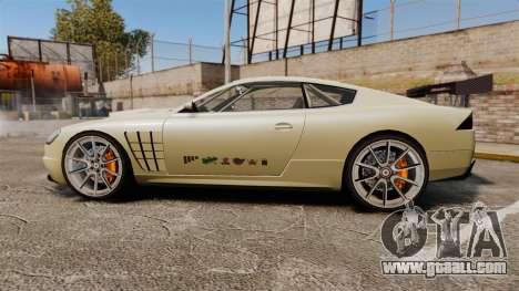 GTA V Ocelot F620 Racer for GTA 4 left view