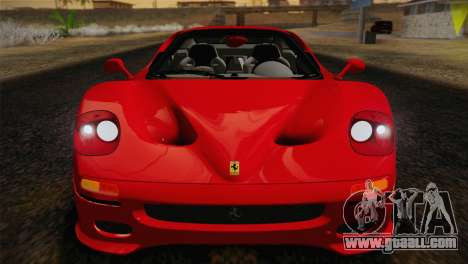 Ferrari F50 1995 for GTA San Andreas back view