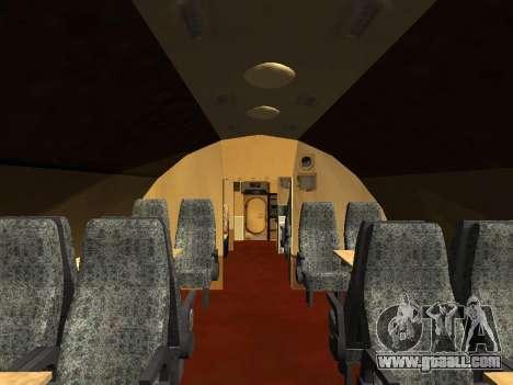 Tu-A for GTA San Andreas interior