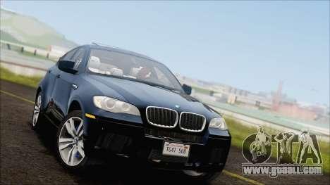 BMW X6M E71 2013 300M Wheels for GTA San Andreas