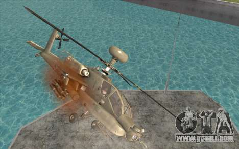 AH-64D Longbow Apache for GTA San Andreas