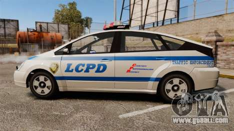 Karin Dilettante LCPD for GTA 4 left view