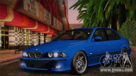 BMW E39 M5 2003 for GTA San Andreas right view