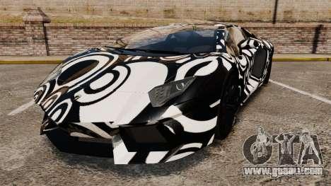 Lamborghini Aventador LP700-4 2012 [EPM] Circle for GTA 4