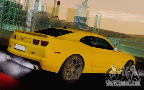 Chevrolet Camaro ZL1 2011 for GTA San Andreas left view