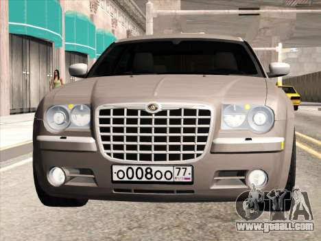 Chrysler 300C 2009 for GTA San Andreas back left view