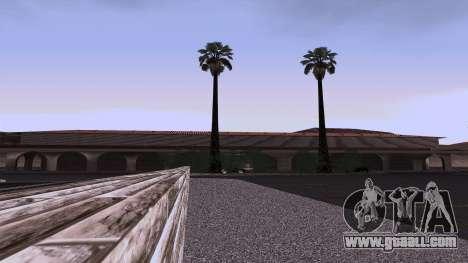 New textures railway Station in Las Venturas for GTA San Andreas