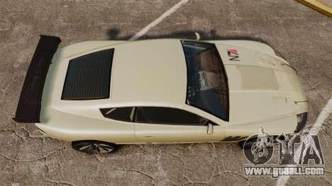 GTA V Ocelot F620 Racer for GTA 4 right view