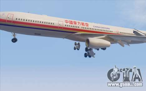 Airbus A340-300 China Eastern for GTA San Andreas side view