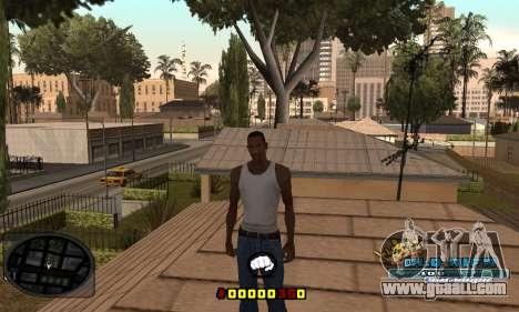 C-HUD Old-Rifa for GTA San Andreas