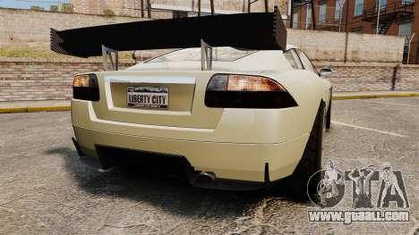 GTA V Ocelot F620 Racer for GTA 4 back left view