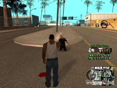 С-HUD Grove Street for GTA San Andreas third screenshot