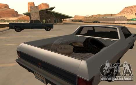 Picador GTA 5 for GTA San Andreas back left view