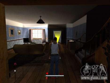 C-HUD by SaMoGoN for GTA San Andreas third screenshot