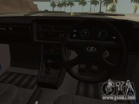 VAZ-2107 Riva for GTA San Andreas back view