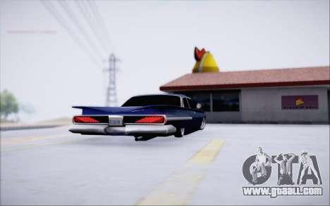 Voodoo Low Car v.1 for GTA San Andreas right view