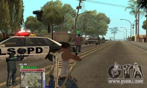C-HUD Grove by Krutoyses for GTA San Andreas