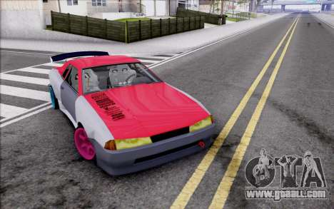Elegy New Drift Kor4 for GTA San Andreas bottom view