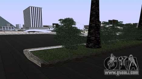 New textures railway Station in Las Venturas for GTA San Andreas third screenshot