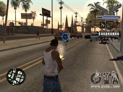 C-HUD Deagle for GTA San Andreas second screenshot