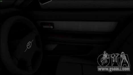 Toyota Chaser Tourer V for GTA San Andreas inner view