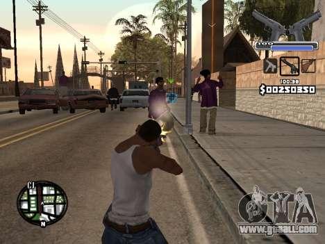 C-HUD Deagle for GTA San Andreas