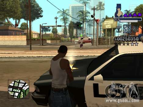 C-HUD new A.C.A.B for GTA San Andreas fifth screenshot