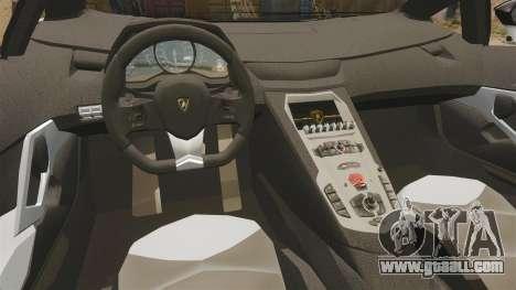 Lamborghini Aventador LP700-4 2012 [EPM] Circle for GTA 4 inner view