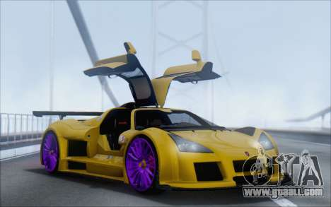 Gumpert Apollo S Autovista for GTA San Andreas left view