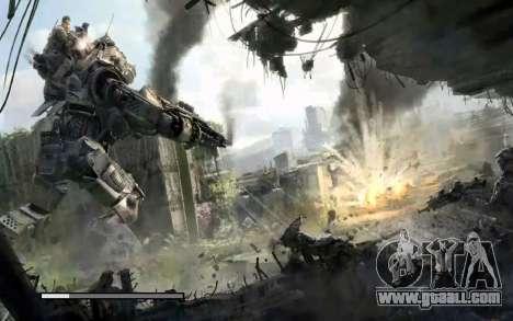 Boot screens and menus Titanfall for GTA San Andreas eleventh screenshot