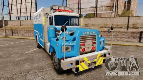 Mack R Bronx 1993 NYPD Emergency Service [ELS] for GTA 4