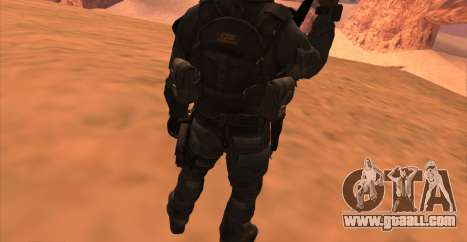 Lt. David Hesh Walker из Call Of Duty: Ghosts for GTA San Andreas seventh screenshot