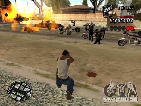 C-HUD Energy for GTA San Andreas forth screenshot