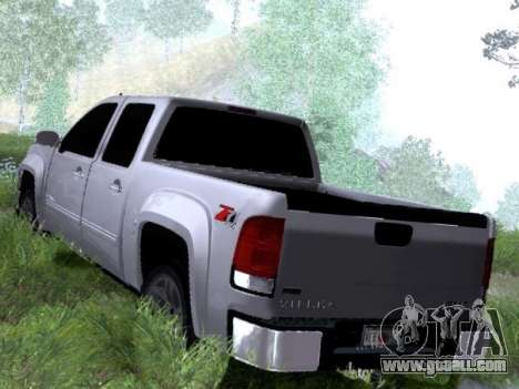 GMC Sierra SLT for GTA San Andreas right view