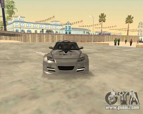 Mazda RX 8 из NFS Most Wanted for GTA San Andreas right view