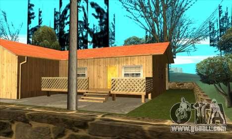 New house of Sijia in Palomino Cry for GTA San Andreas third screenshot