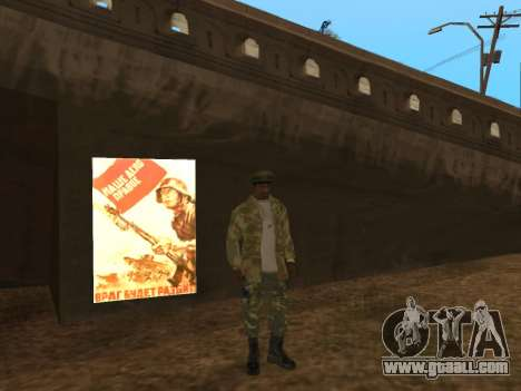 MOD to the victory day for GTA San Andreas third screenshot