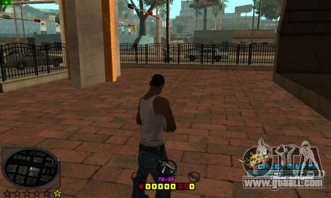C-HUD Old-Rifa for GTA San Andreas second screenshot