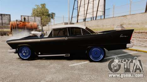Plymouth Savoy 1958 for GTA 4 left view