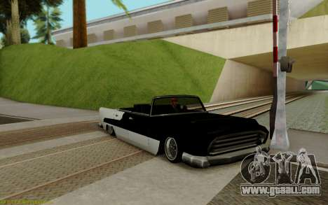 Oceanic Convertible for GTA San Andreas left view